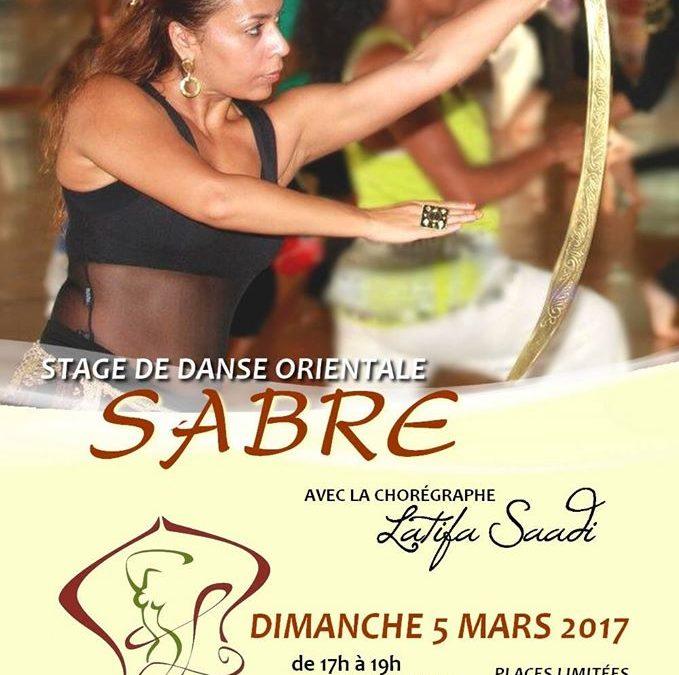 Stage Danse Orientale Sabre