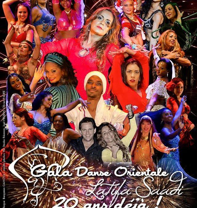 GALA de l'ecole de danse orientale LATIFA SAADI 2018 – 20 ans déjà!