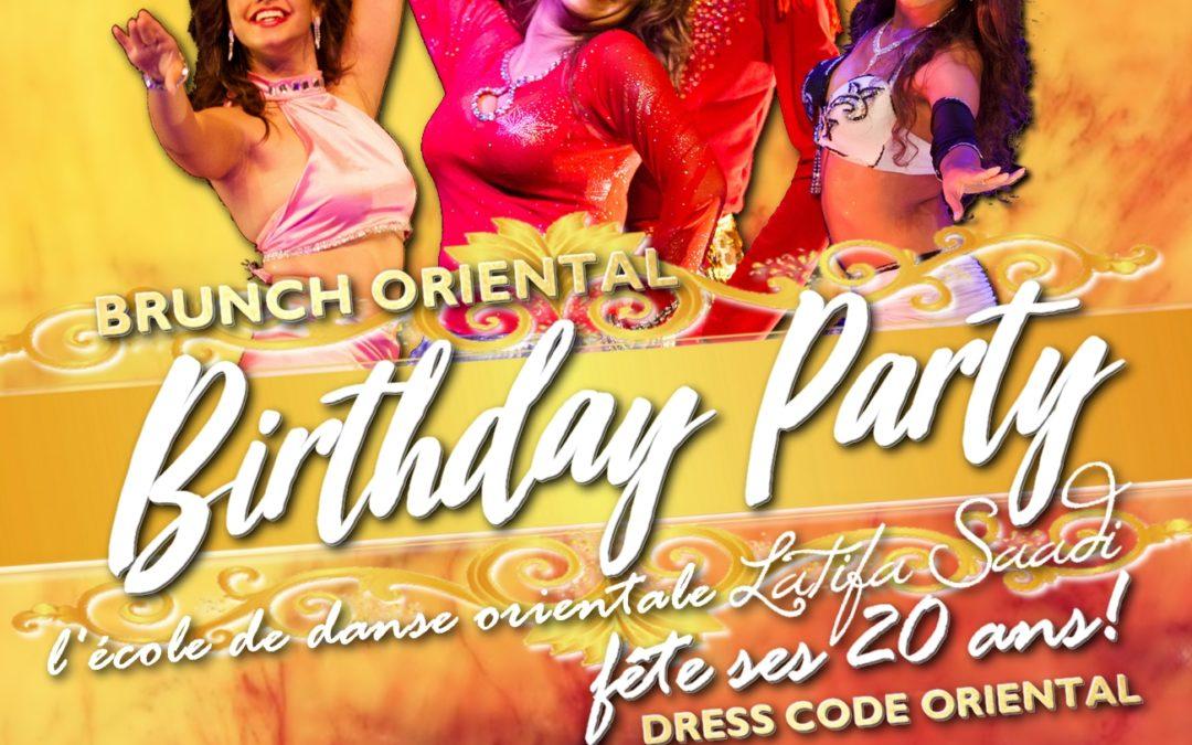BIRTHDAY PARTY – L'école de danse orientale Latifa Saadi fête ses vingt ans!