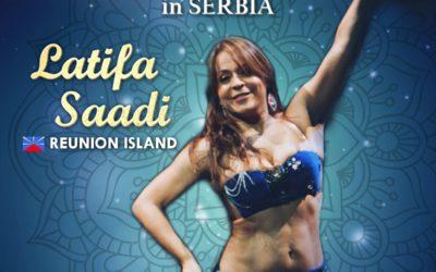Latifa Saadi à Nis & Sokobanja, Serbie