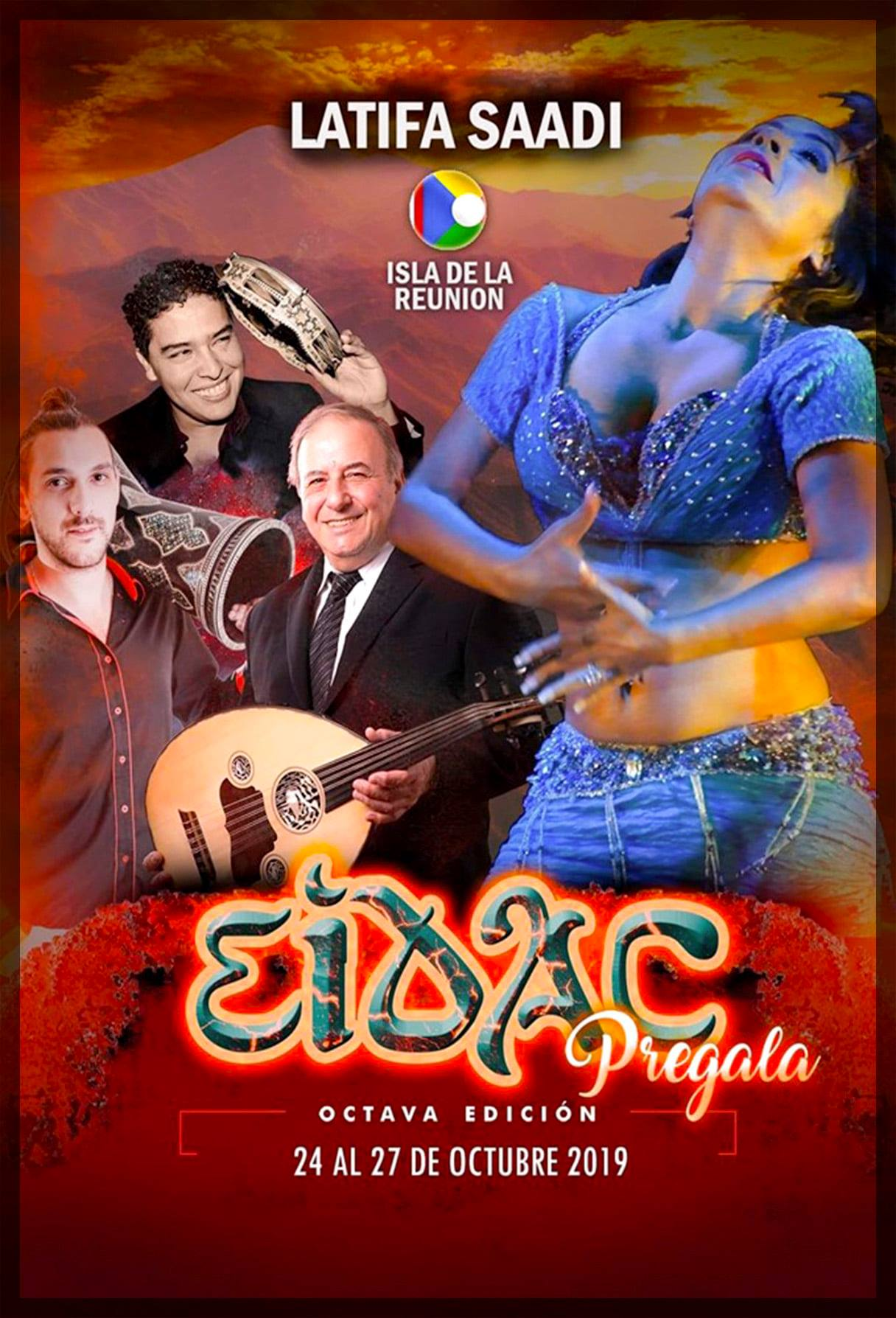Latifa Saadi au Festival EIDAC 2019 – Cancun, Mexique