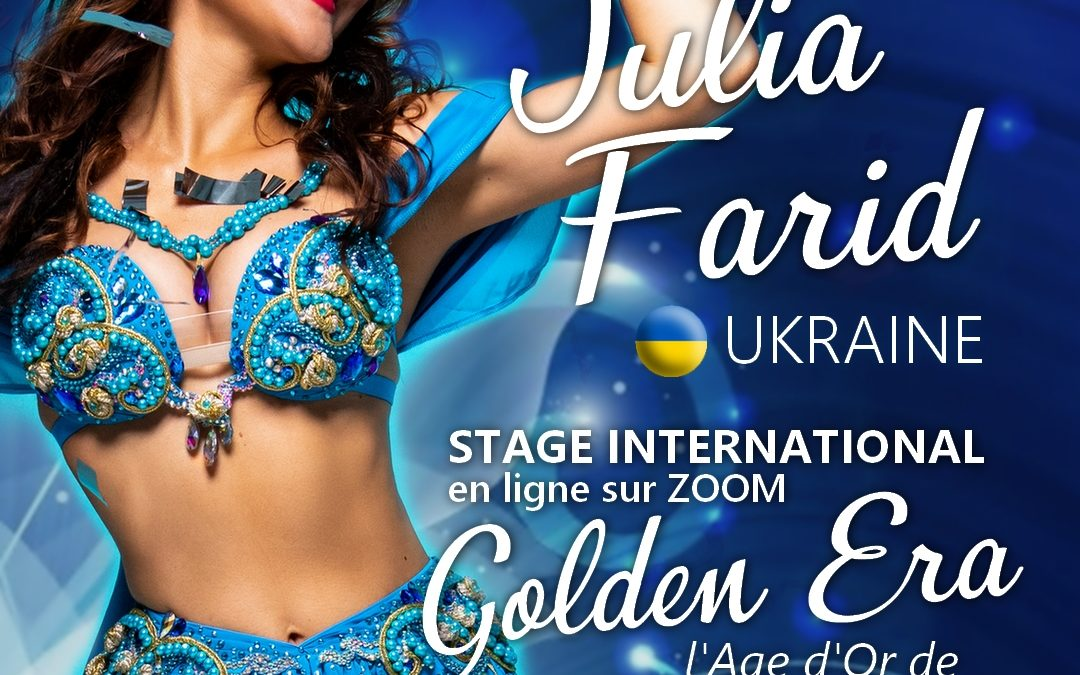 Stage international Golden Era avec Julia Farid (Ukraine)