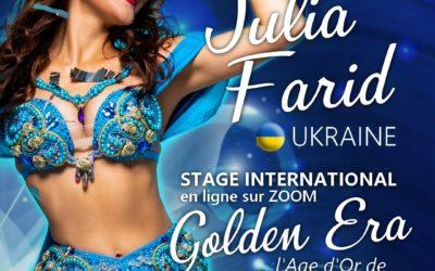 Stage international Golden Era avec Julia Farid (Ukraine)