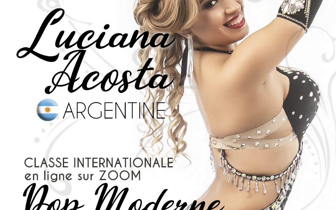 Classe Internationale en ligne avec Luciana Acosta (Argentine)