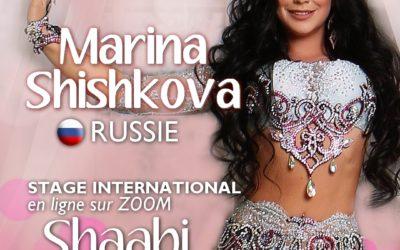 Stage international avec Marina Shishkova (Russie)
