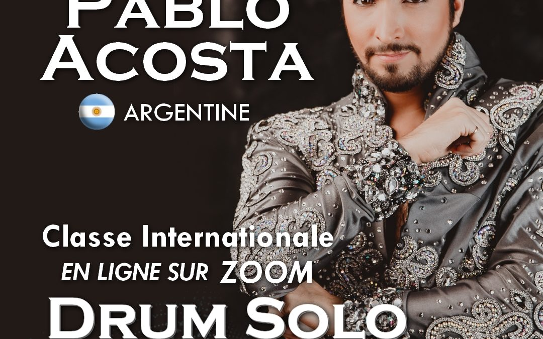 Classe internationale en ligne avec Pablo Acosta (Argentine)