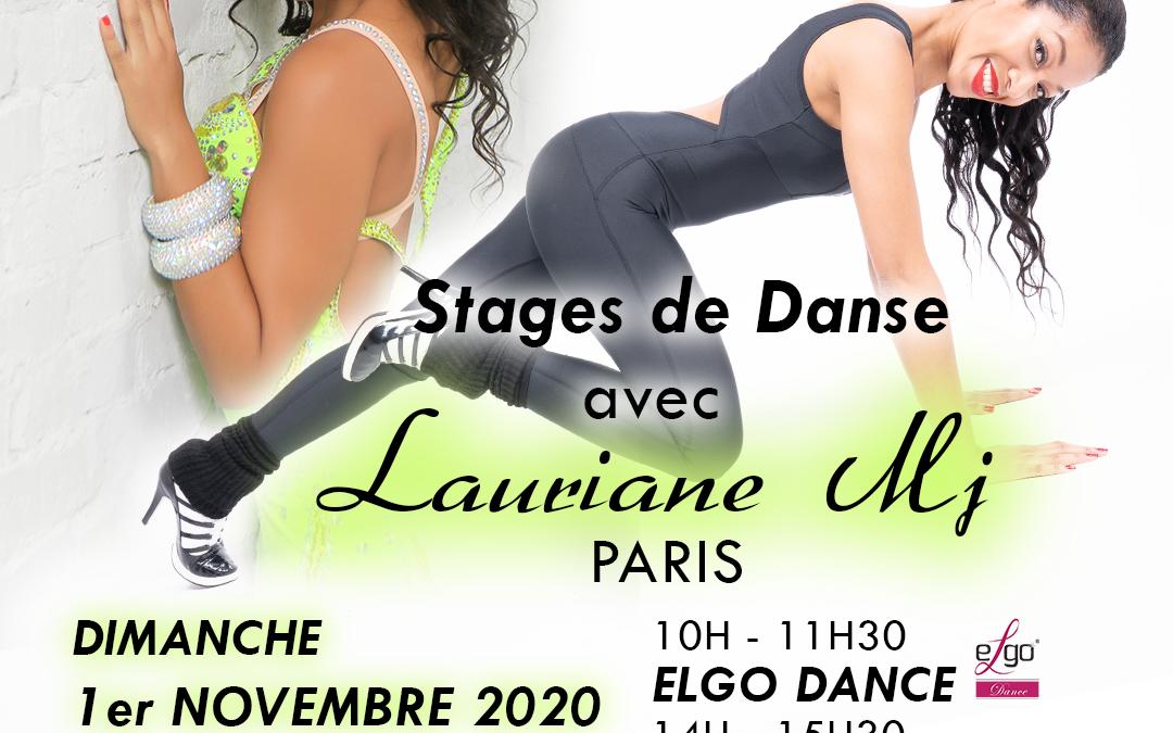 Stages de Danse avec Lauriane Mj (Paris)