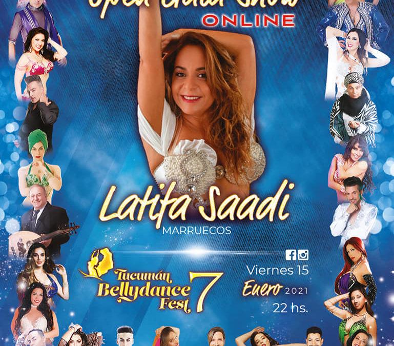 Latifa Saadi au Tucuman Bellydance Fest 7 Online